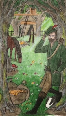 Quester of Coins - Robin Hood (British Folklore).jpg